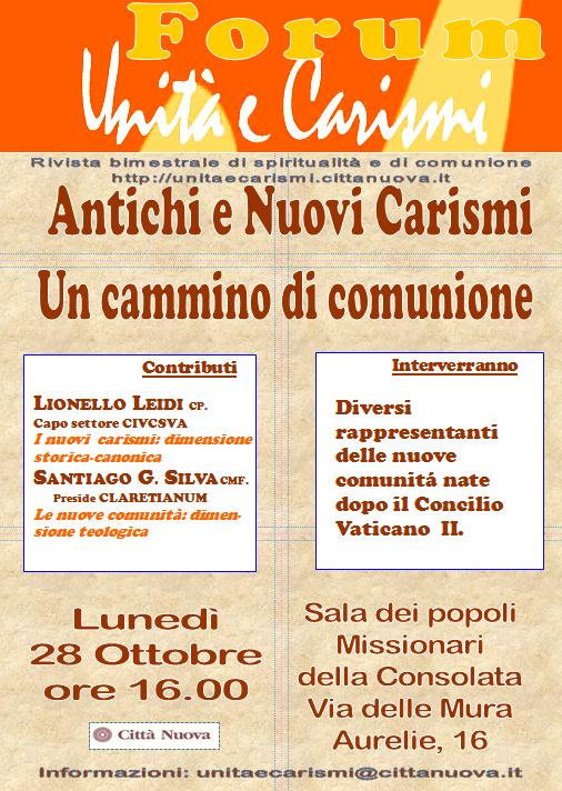 locandina-forum-unita-e-carismi